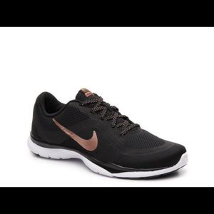 Nike Flex Trainer 6 Rose Gold and Black